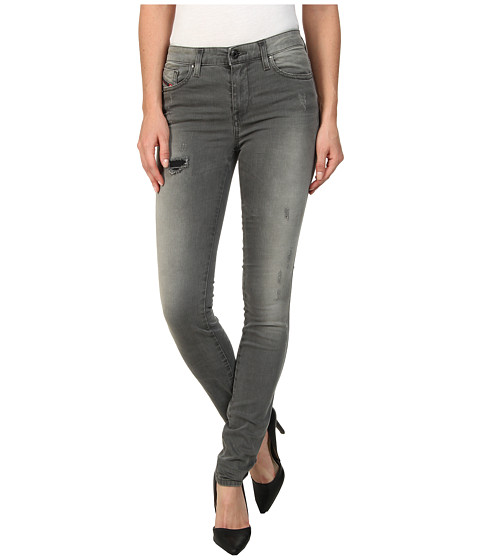 Diesel - Skinzee Super Skinny 0662D (Grey) Women