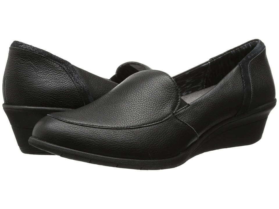 Hush Puppies Lulu Ware (Black Leather) Women