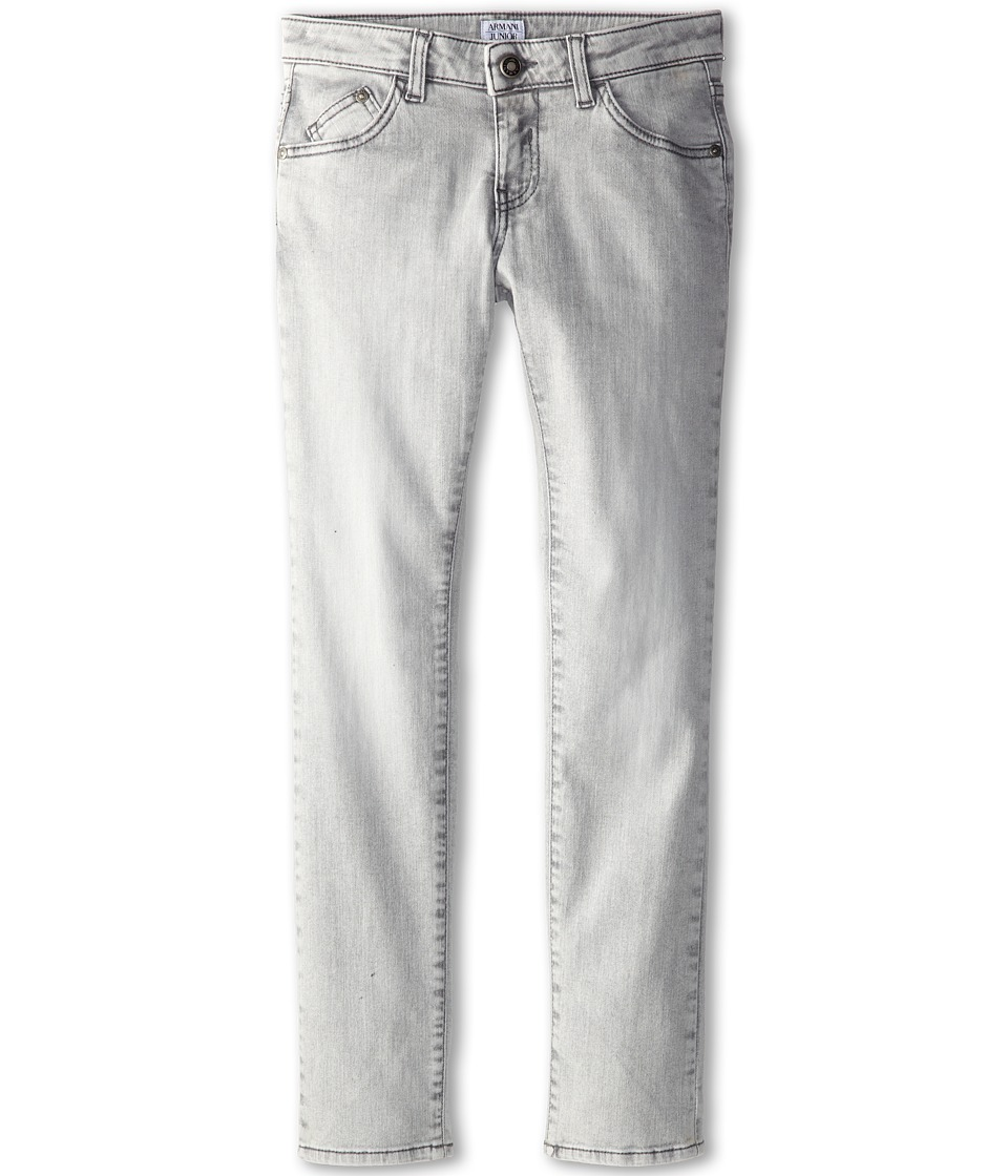 Armani Junior - Grey Fashion Denim (Big Kids) (Grey) Boy's Jeans