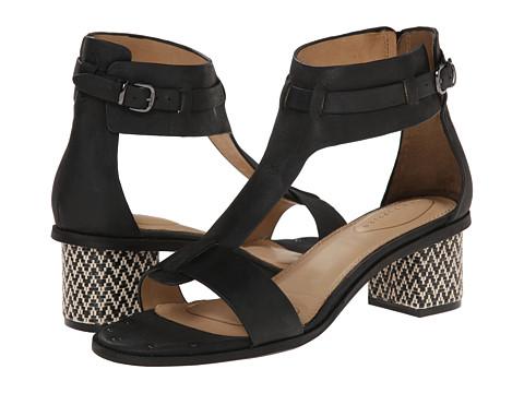 Hush Puppies - Winnie Ballard (Black Leather) High Heels