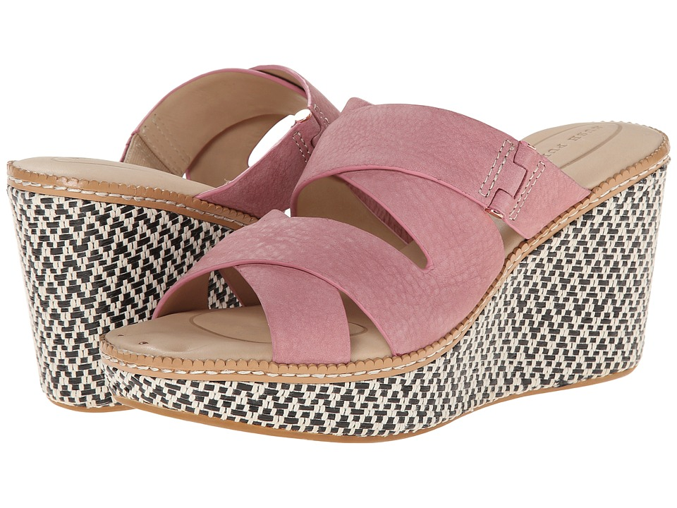Hush Puppies - Allie Dalten (Rose Mist Nubuck) Women's Wedge Shoes