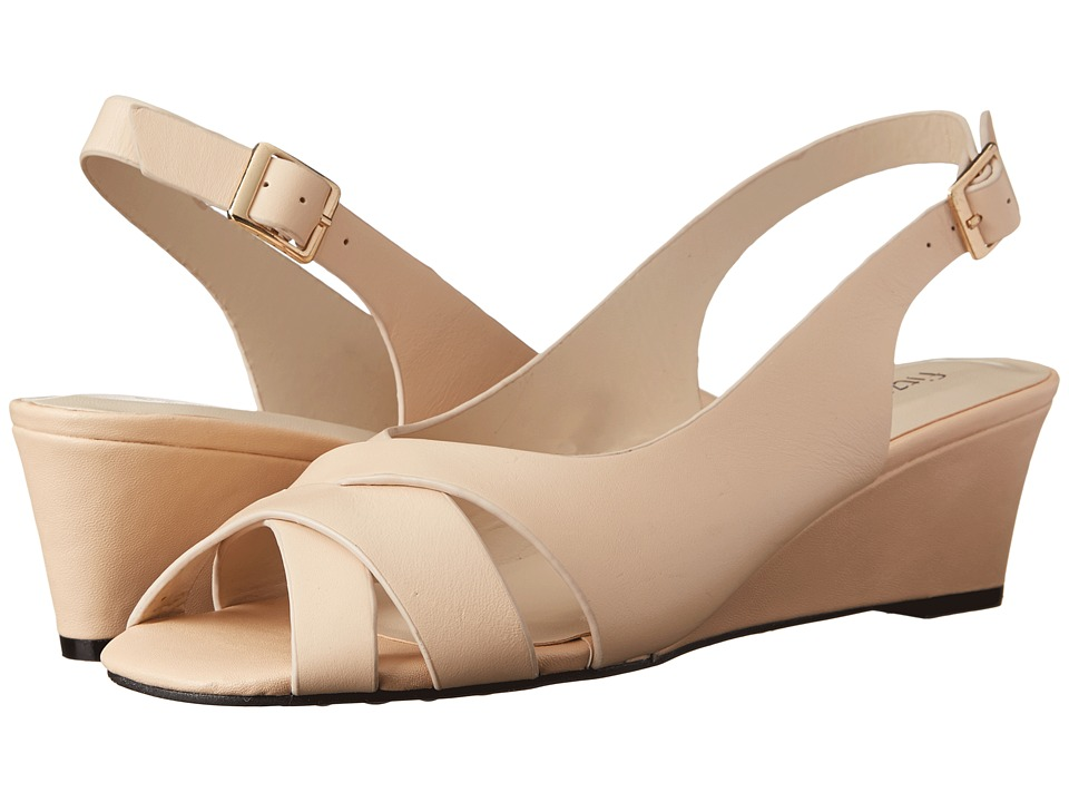 Fitzwell - Aero (Natural Burnished Leather) Women's Sandals