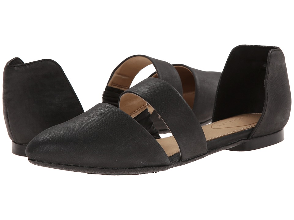Hush Puppies - Kendall Trave (Black Leather) Women