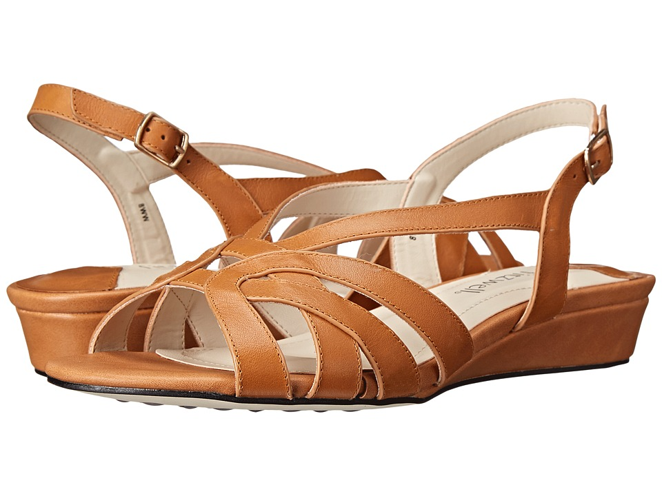 Fitzwell - Ping (Luggage Burnished Leather) Women's Sandals