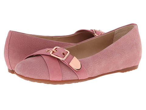 Hush Puppies - Dallas Hailey (Rose Mist Leather) Women's Slip-on Dress Shoes