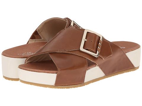 Dr. Scholl's - Flight Original Collection (Saddle Tan Leather) Women's Sandals