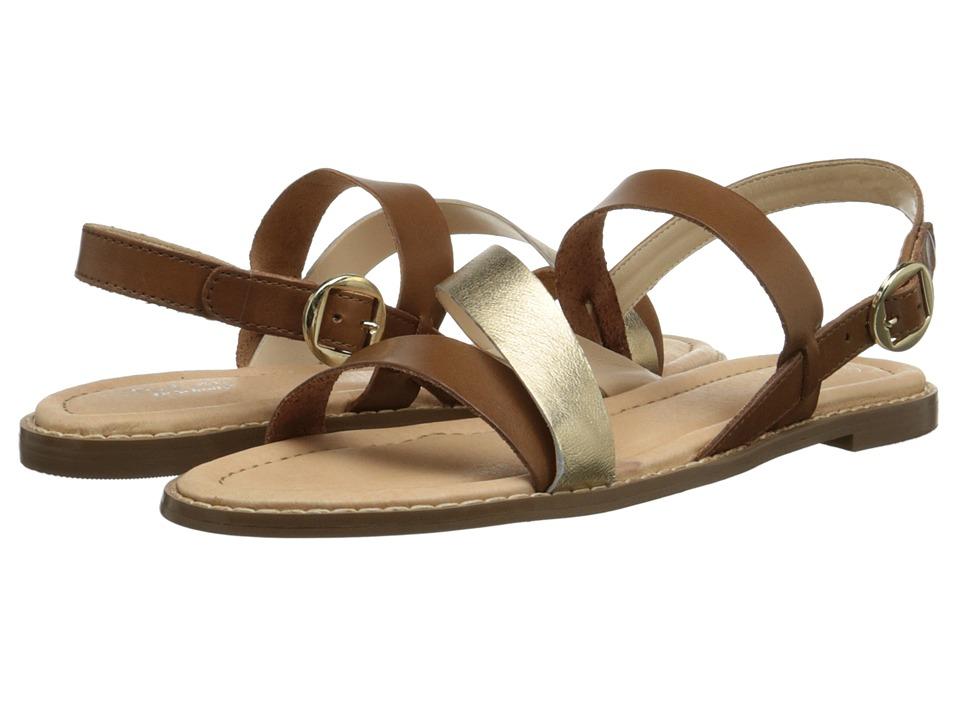 Dr. Scholl's - Tyndale Original Collection (Saddle Tan/Platinum Leather) Women's Sandals