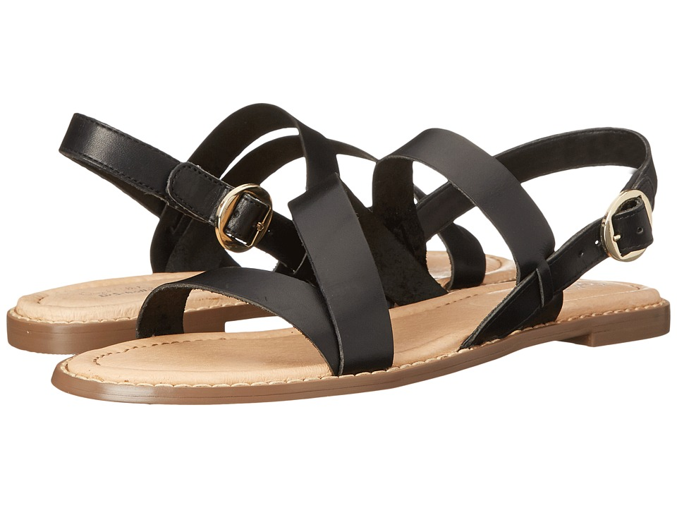 Dr. Scholl's - Tyndale Original Collection (Black Leather) Women's Sandals