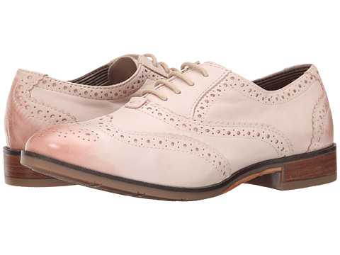 Hush Puppies - Ellodie Ellis (Light Pink Leather) Women's Lace Up Wing Tip Shoes