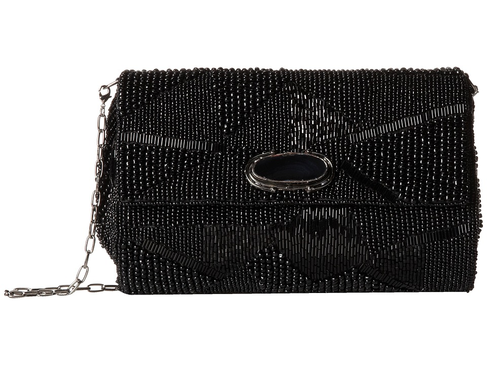 Mary Frances - Bodacious (Black) Handbags