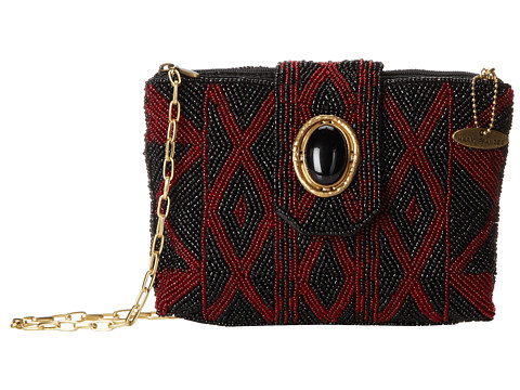 Mary Frances - Strength Within Mini (Black/Red) Handbags