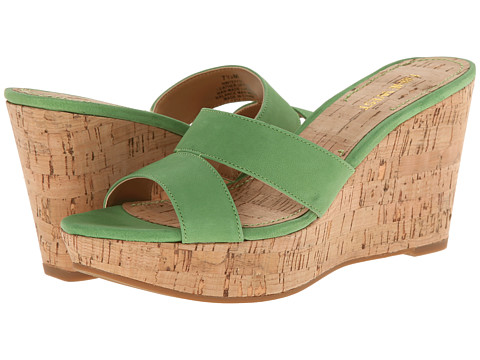 Nine West - Effie (Green Nubuck) Women's Wedge Shoes