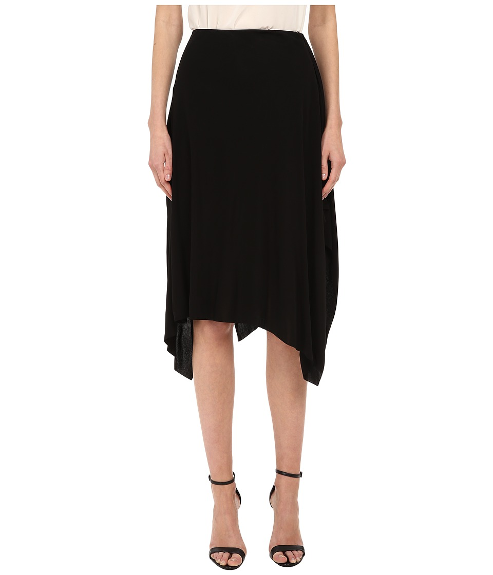 CoSTUME NATIONAL - Viscose Jersey Skirt (Nero) Women's Skirt