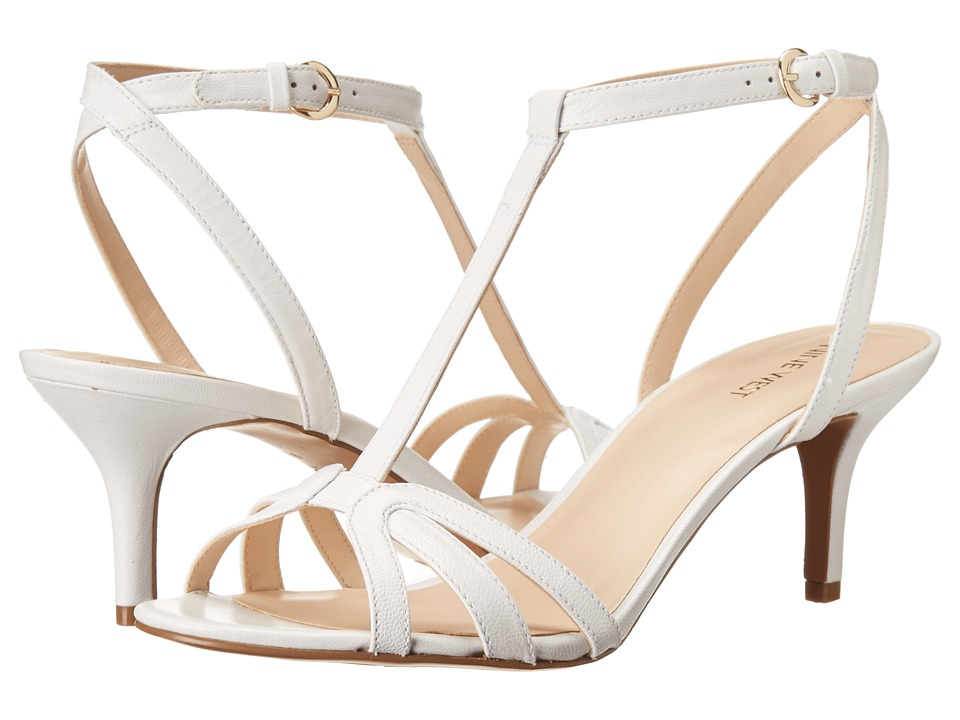 Nine West - Gissella (White Leather) Women
