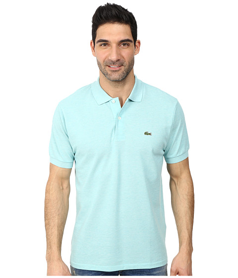 Lacoste - S/S Classic Pique Chine Polo Shirt (Corsica Aqua Chine) Men