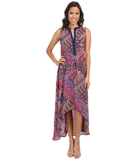 Tolani - Lydia High-Low Dress (Fuchsia) Women's Dress