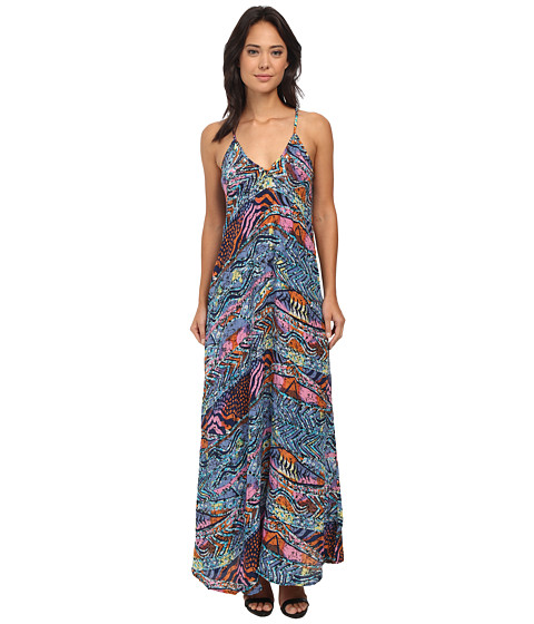 Tolani - Cristina Maxi Dress (Blue) Women's Dress