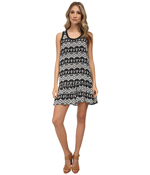 Tolani - Jolie Sleeveless Mini Dress (Black) Women's Dress