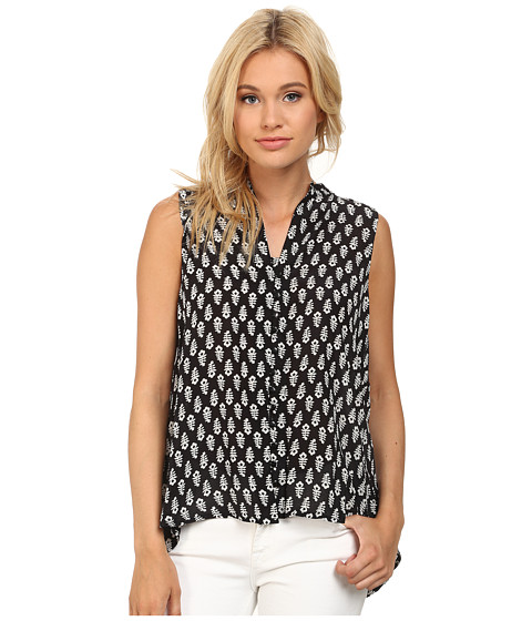 Tolani - Whitney Sleeveless Top (Ditsy) Women's Sleeveless