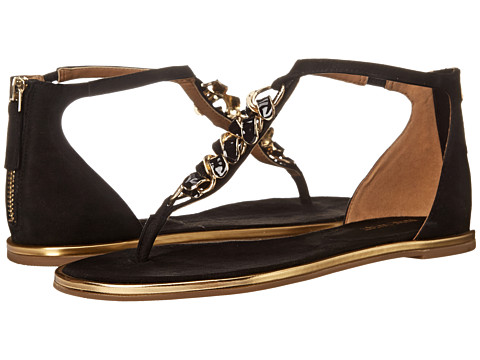 Nine West - Keylime (Black Nubuck) Women's Sandals