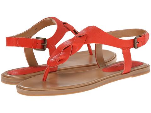 Nine West - Kearin (Orange Leather) Women's Sandals