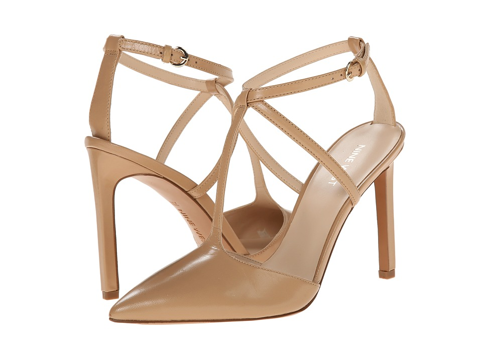 Nine West - Tixilated (Light Natural Leather) High Heels
