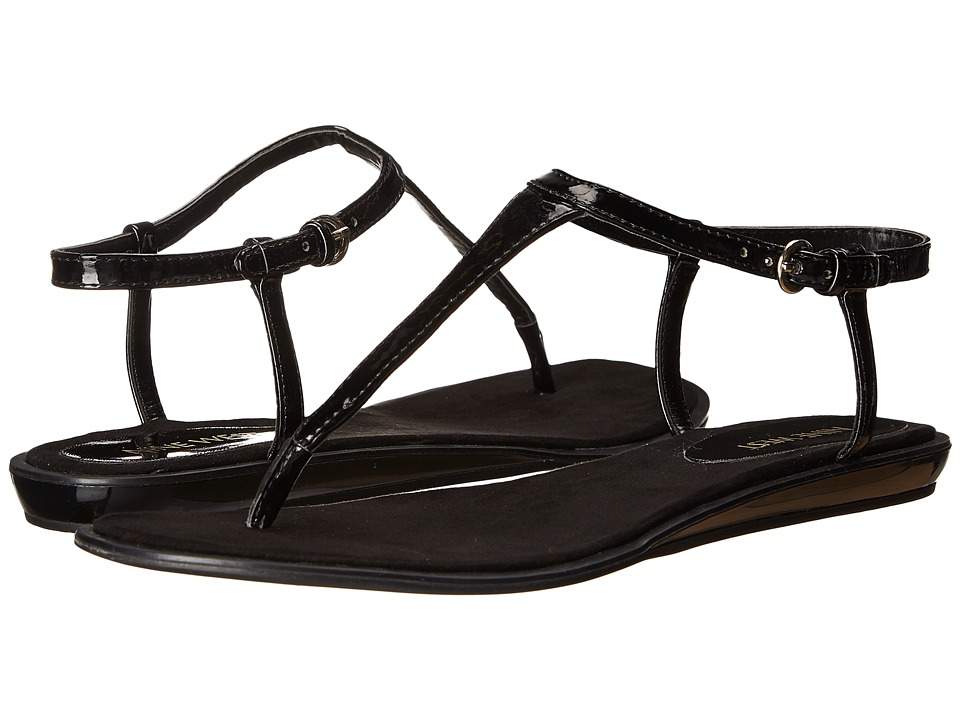 Nine West - Venga (Black Synthetic) Women's Sandals