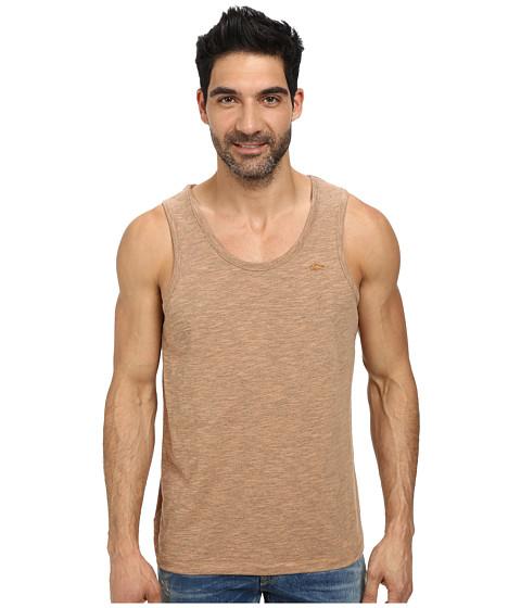 Lacoste - Slubbed Jersey Slim Fit Tank Top (Potiron Dyed) Men