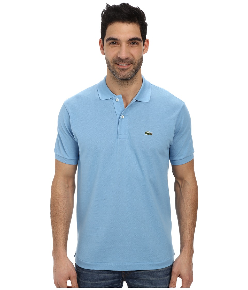 Lacoste - L1212 Classic Pique Polo Shirt (Naval Blue) Men's Short Sleeve Knit