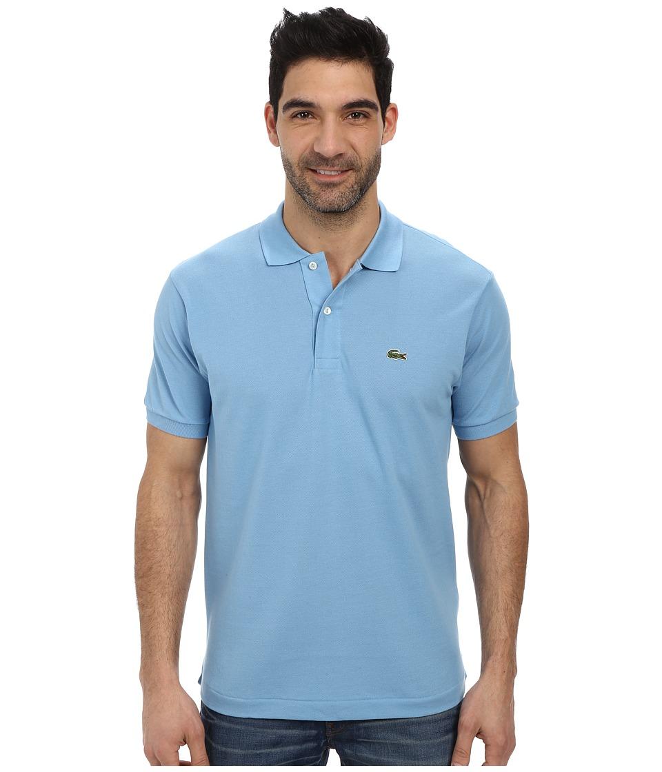 Lacoste - L1212 Classic Pique Polo Shirt (Naval Blue) Men's Short Sleeve Knit