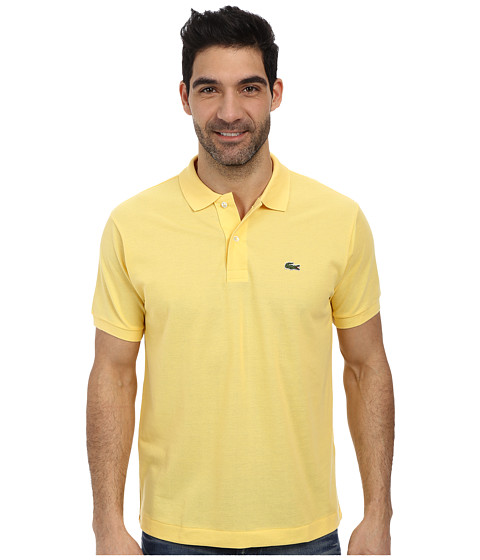 Lacoste - L1212 Classic Pique Polo Shirt (Pollen) Men's Short Sleeve Knit