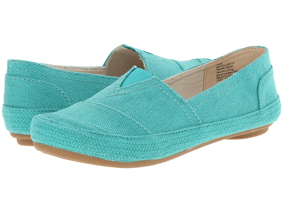 Nine West - Gilboy (Turquoise Fabric) Women