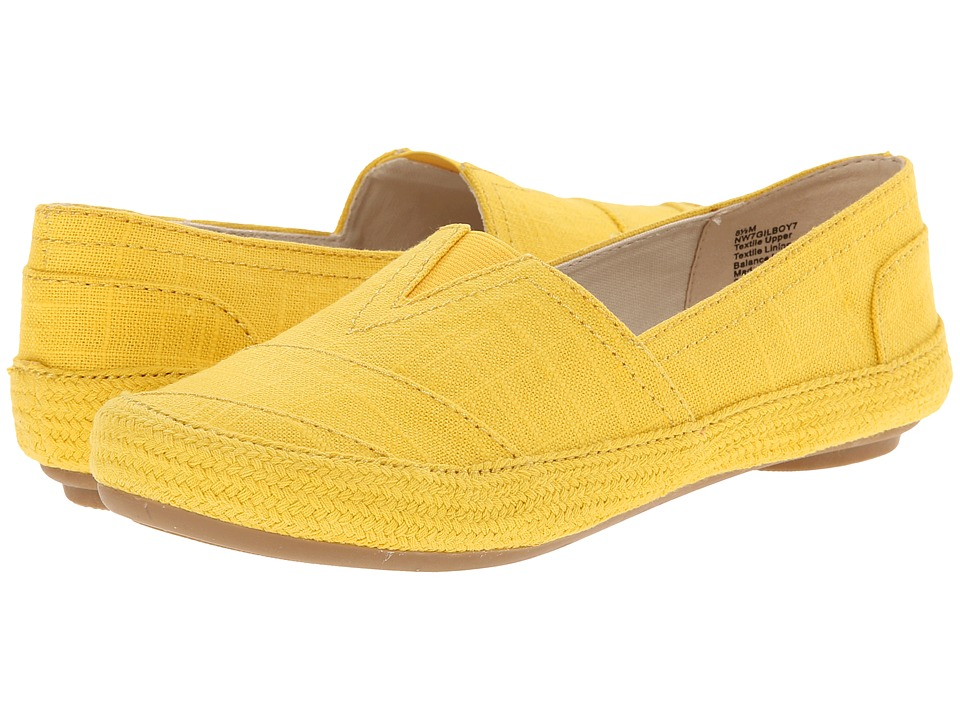 Nine West - Gilboy (Yellow Fabric) Women