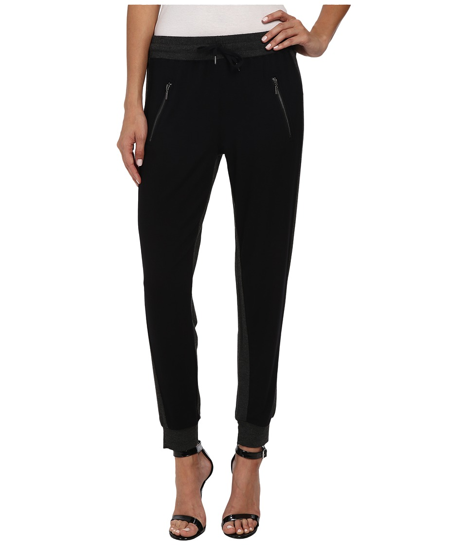 kensie - Drapey French Terry Pant KS2K1490 (Heather Charcoal) Women's Casual Pants