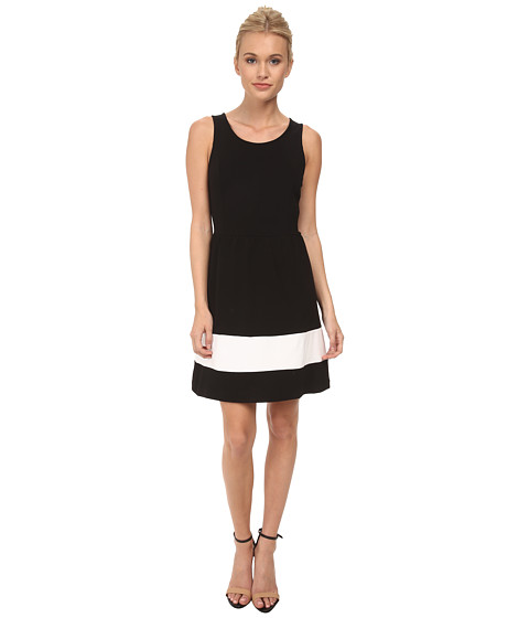 kensie - Ponte Dress KS3K7414 (Black) Women's Dress