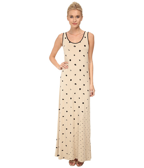 kensie - Connect the Dots Dress KS3K7437 (Latte Combo) Women's Dress