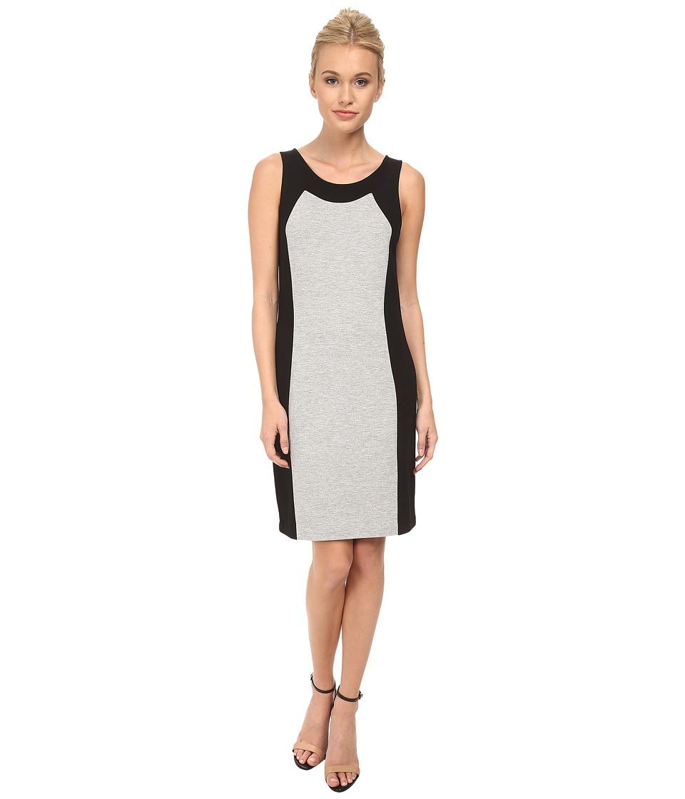 kensie - Ponte Dress KS2K9S99 (Heather Grey) Women