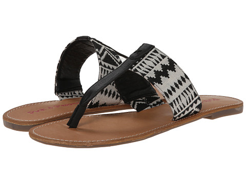 Pink & Pepper - Noah (Black/Black) Women's Sandals