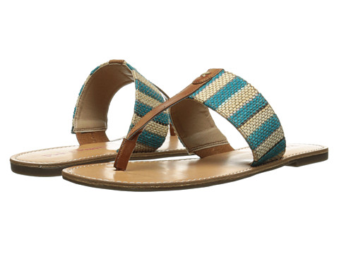 Pink & Pepper - Noah (Aqua/Sand Dune) Women's Sandals