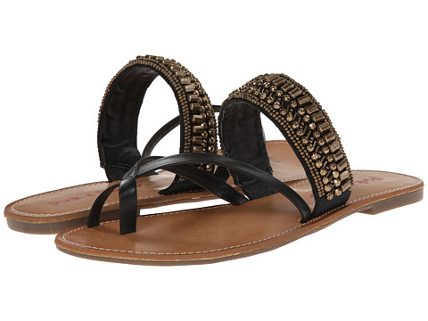 Pink & Pepper - Nataley (Black/Black) Women's Sandals