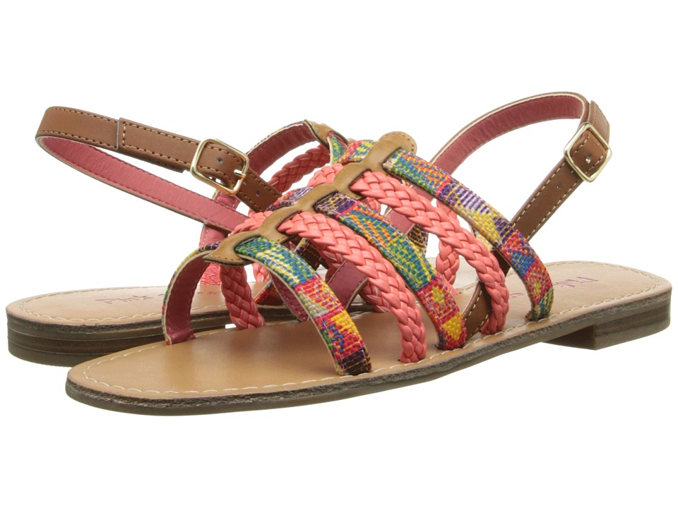 Pink & Pepper - Hippie (New Luggage/Coral) Women's Sandals