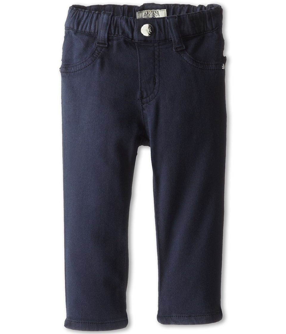 Armani Junior - Navy Stretch Jegging (Infant) (Indigo) Girl's Jeans