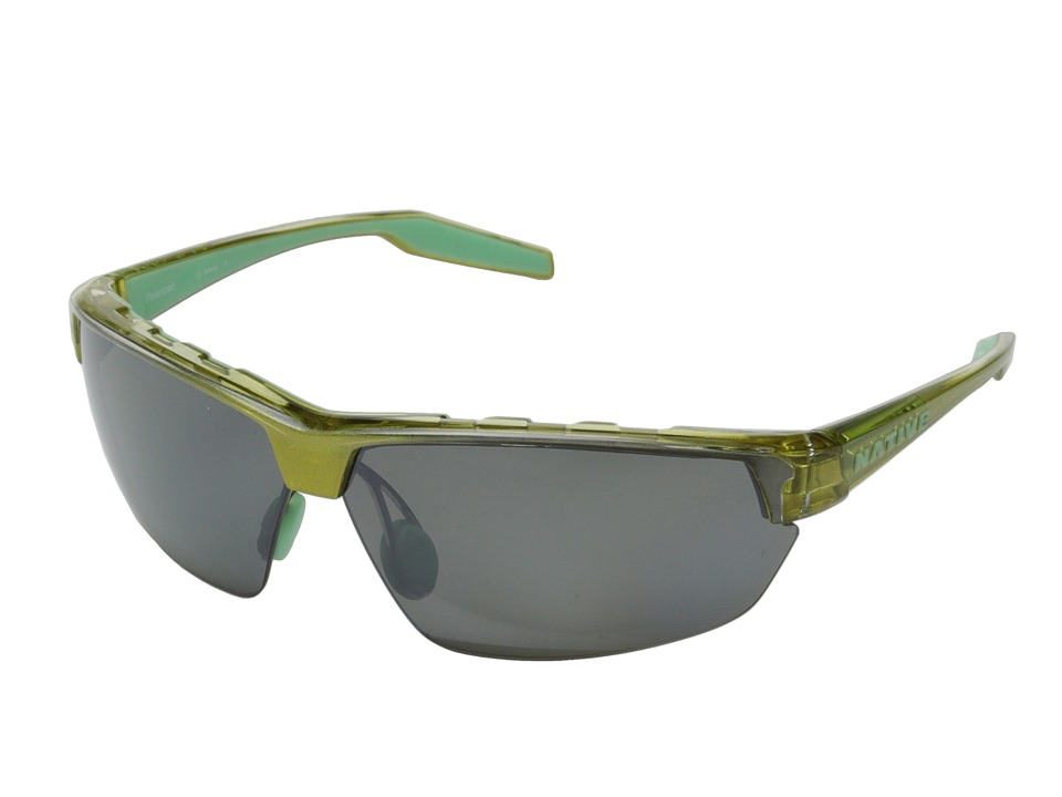 Native Eyewear - Hardtop Ultra (Metallic Fern/Silver Reflex) Sport Sunglasses