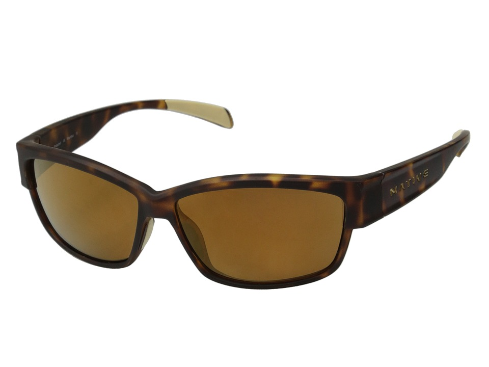 Native Eyewear - Toolah (Tiger's Eye/Bronze Reflex) Sport Sunglasses