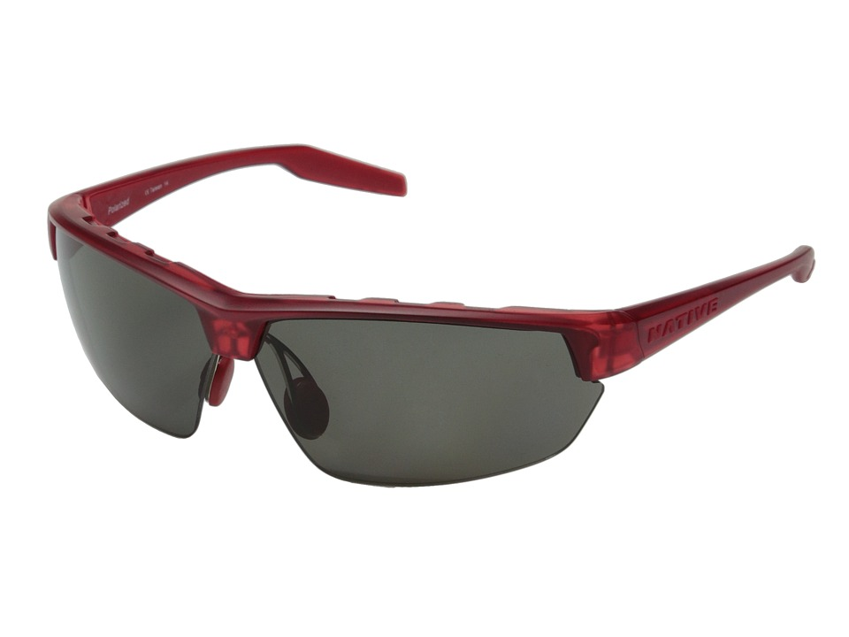 Native Eyewear - Hardtop Ultra (Red Frost/Gray) Sport Sunglasses