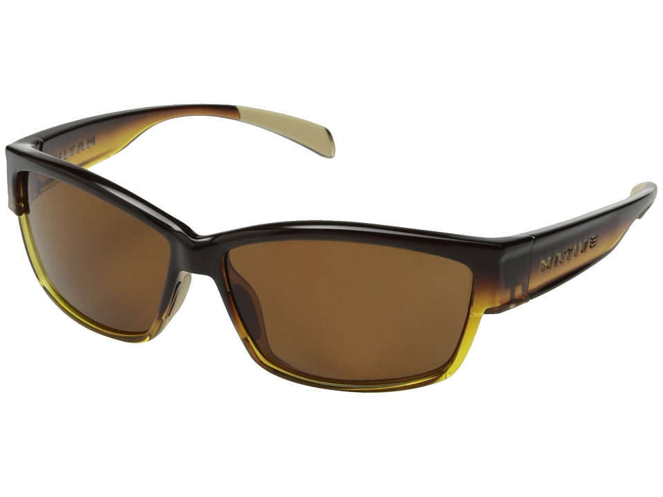 Native Eyewear - Toolah (Pale Ale/Brown) Sport Sunglasses