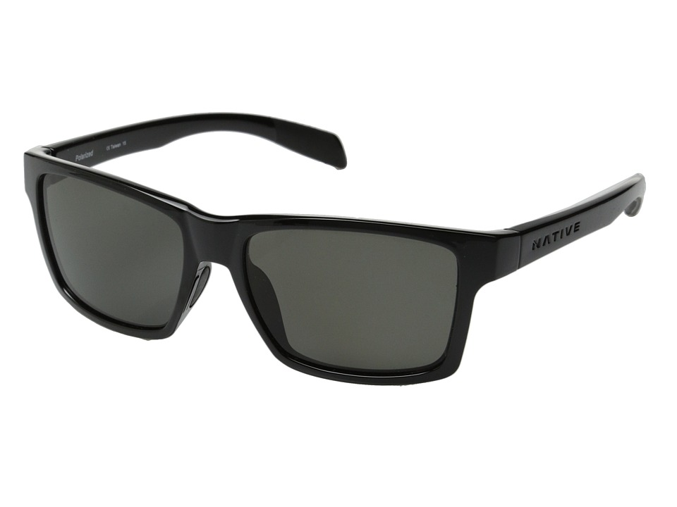 Native Eyewear - Flatirons (Iron/Gray) Sport Sunglasses
