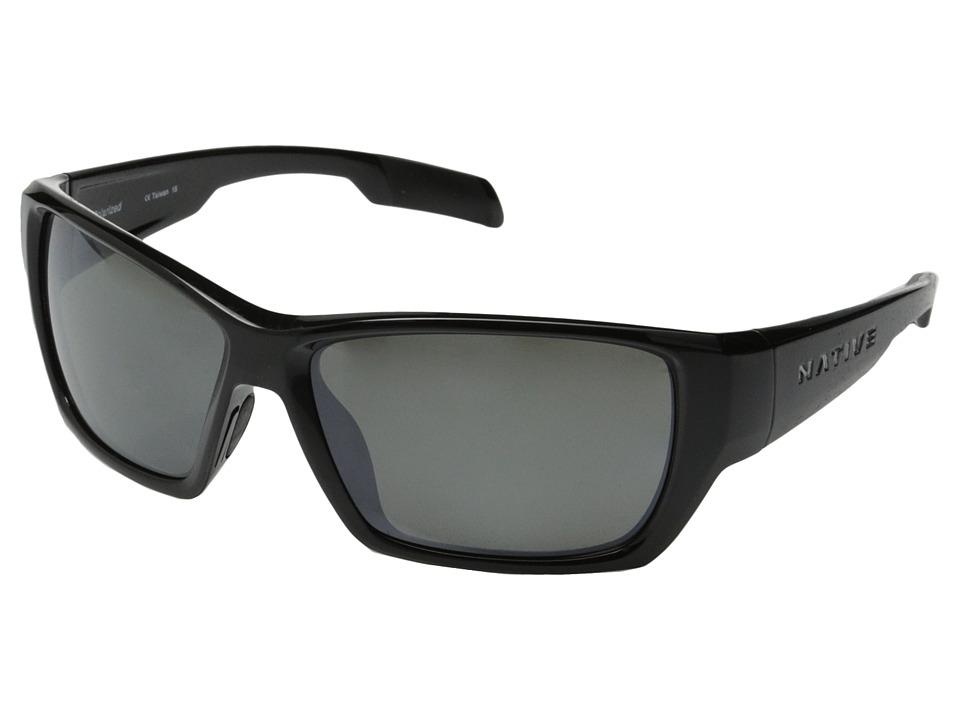 Native Eyewear - Ward (Iron/Silver Reflex) Sport Sunglasses