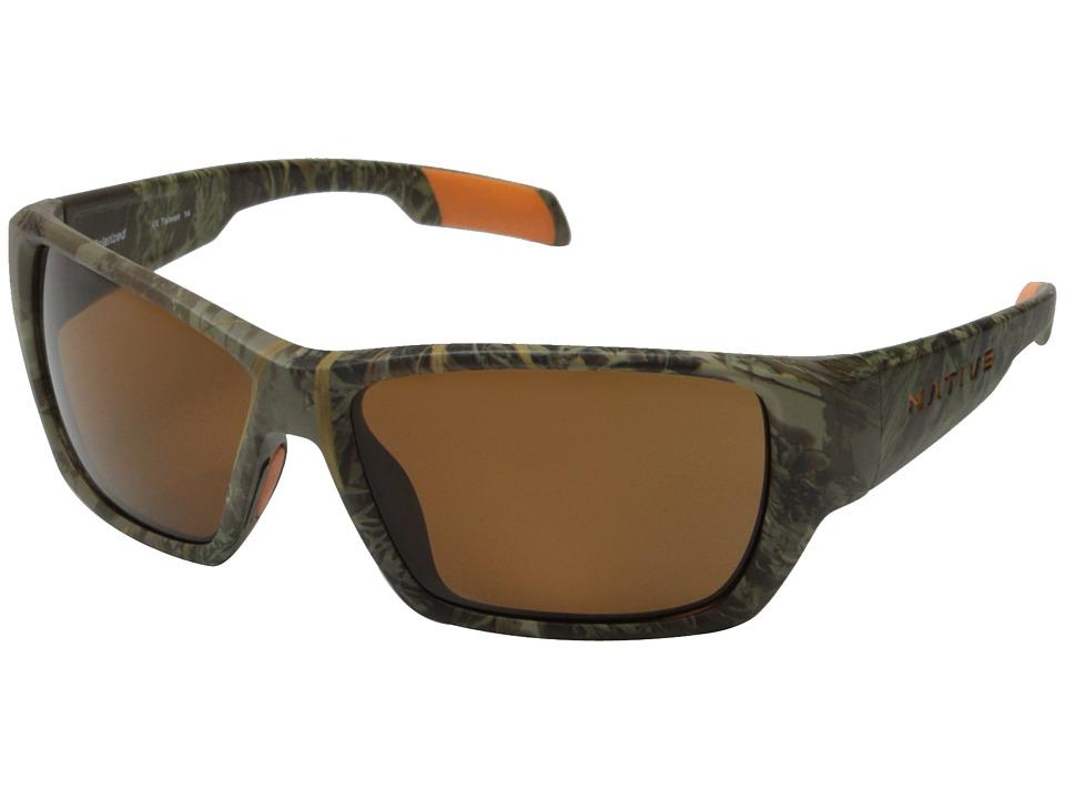 Native Eyewear - Ward (Camo Max1/Brown) Sport Sunglasses