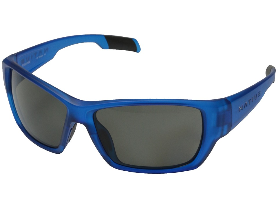 Native Eyewear - Ward (Cobalt/Frost Gray) Sport Sunglasses